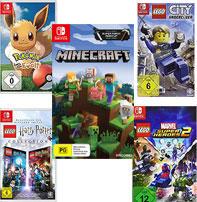 Nintendo Switch: Juegos 5x150€ o 5x100€