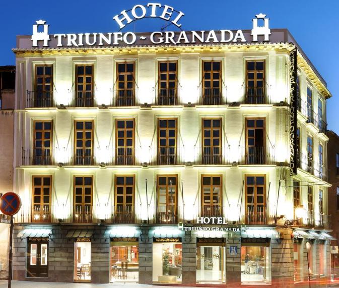 Hotel 4* en Granada 20€ por persona la noche