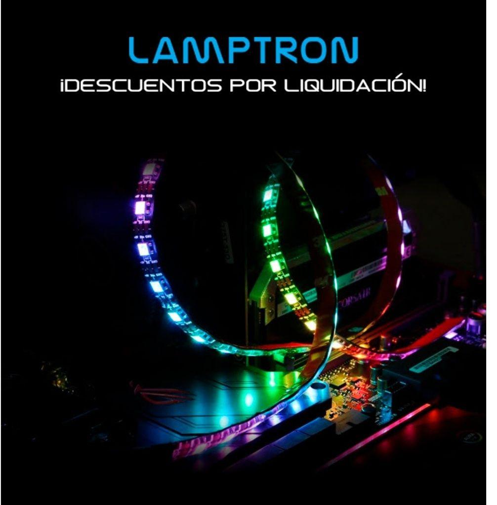Liquidación Lamptron: FlexLight Tira LED y Ventiladores RGB