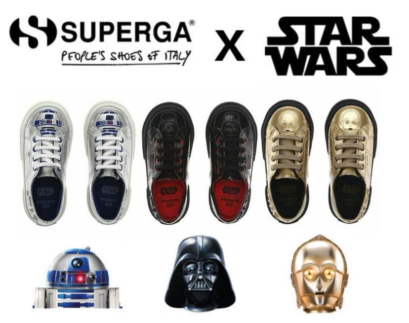 Zapatillas Superga Star Wars para niños