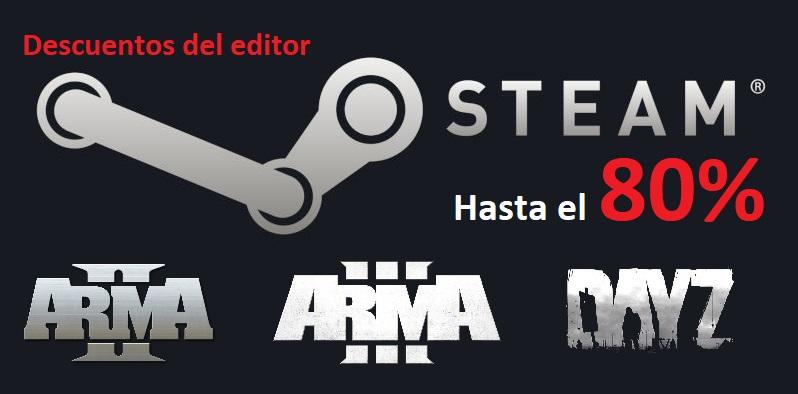 Descuento saga Arma - hasta el 80% - y demás juegos