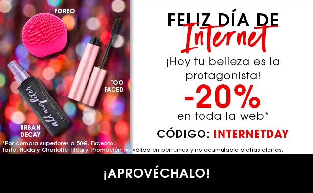 Sephora 20% por la semana de internet