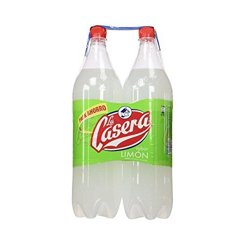La Casera - Bebida Refrescante con Sabor de Limón - 2 x 1.5 L