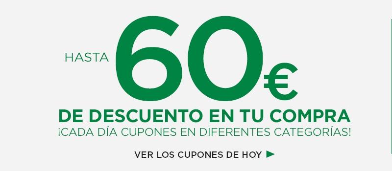 Hasta 60 euros de descuento en Hipercor online