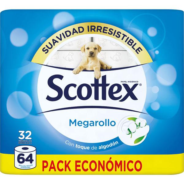 2x1 papel scottex megarrollo 32 Hipercor online