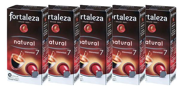 Café FORTALEZA -  Pack 5 x 10 - Total 50 Cápsulas.