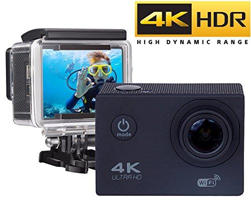 Cámara Deportiva 4k Wifi Ultra HD Resistente al agua (sensor SONY)