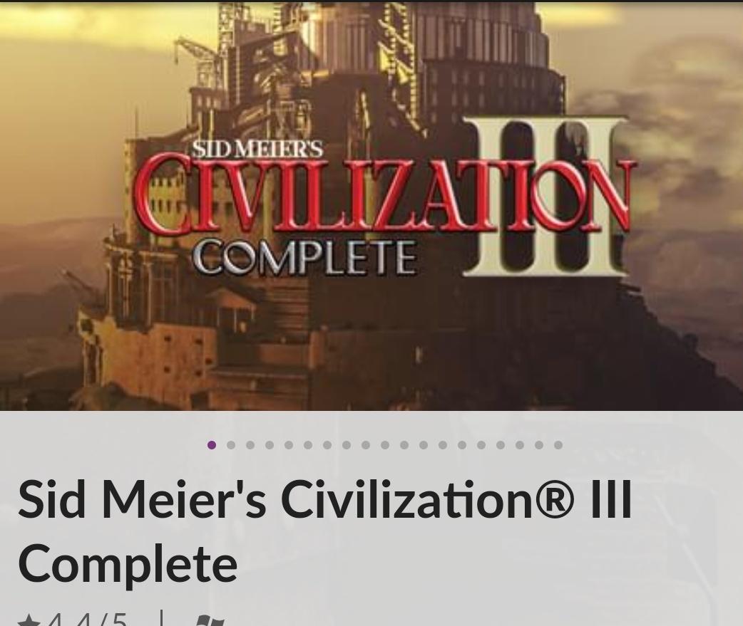 Sid Meier's Civilization® III Complete