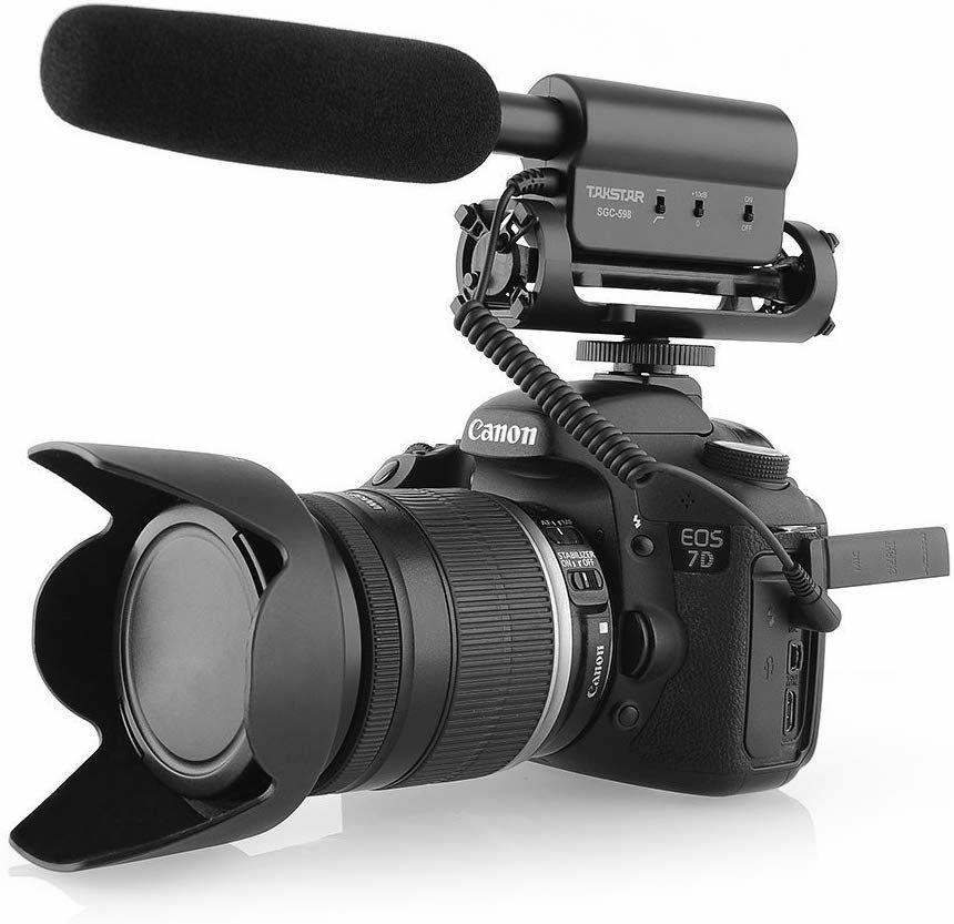 Micrófono de grabación para Camera DSLR