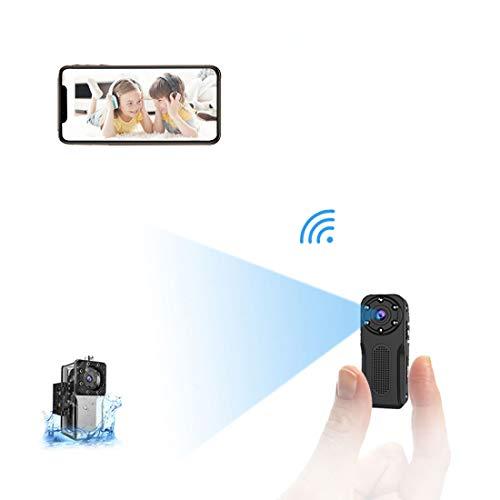 Mini Camara Espia Oculta WiFi Acuatica 1080P