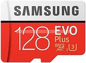 Samsung Micro SDXC 128GB EVO Plus 100MB/s Lectura 90MB/s Escribir