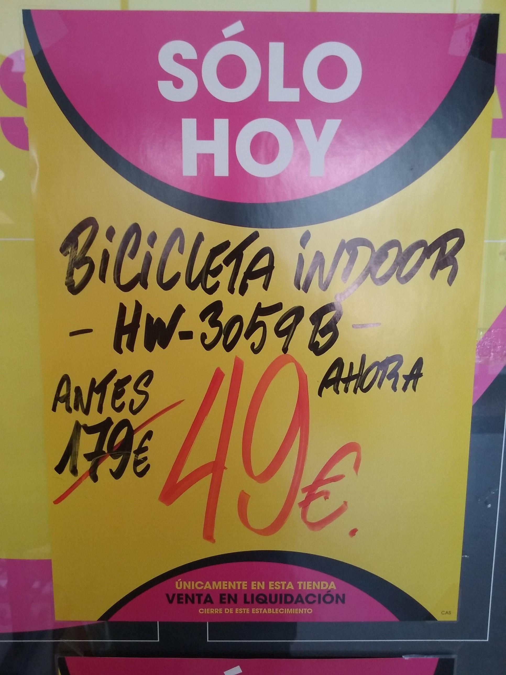 Bicicleta indoor hw 3059B