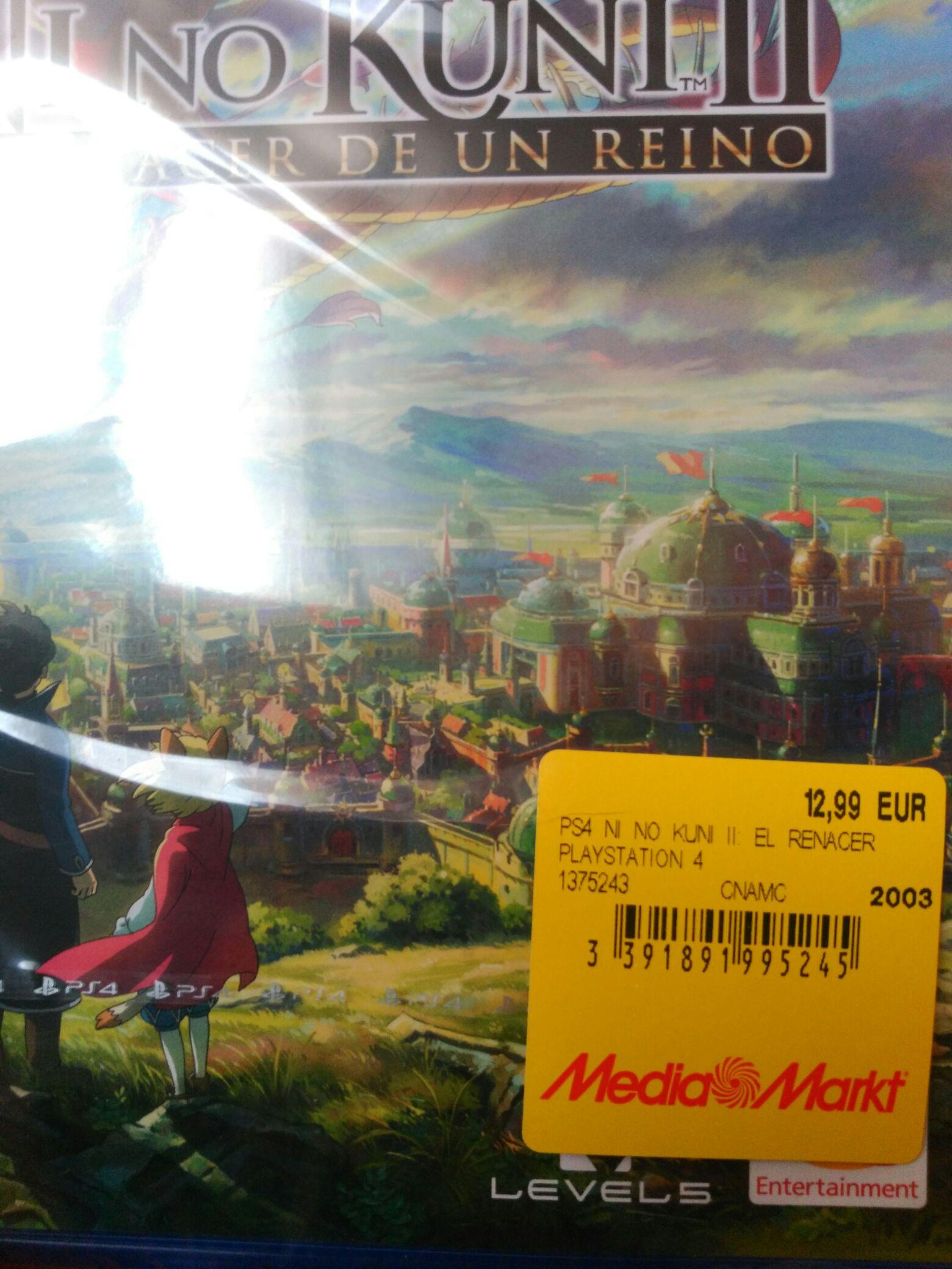 Liquidación videojuegos PS4 Mediamarkt Parque Comercial Abadía (Toledo)
