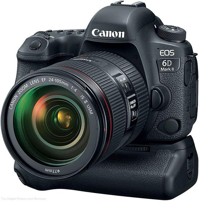 Canon EOS 6D Mark II + Objetivo + Empuñadura BG-E21 de regalo