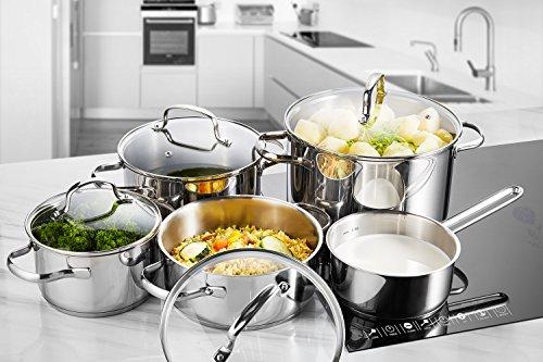 Batería de cocina 9 piezas (mínimo histórico)