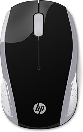 Ratón Inalámbrico HP 200 con Perfil Redondeado