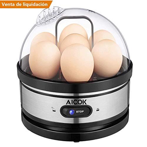Hervidor Aicok para 7 huevos solo 10.4€
