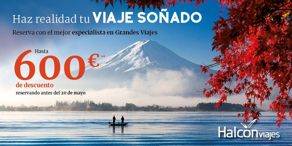 Hasta 600€ de descuento en tu reserva con Halcón Viajes