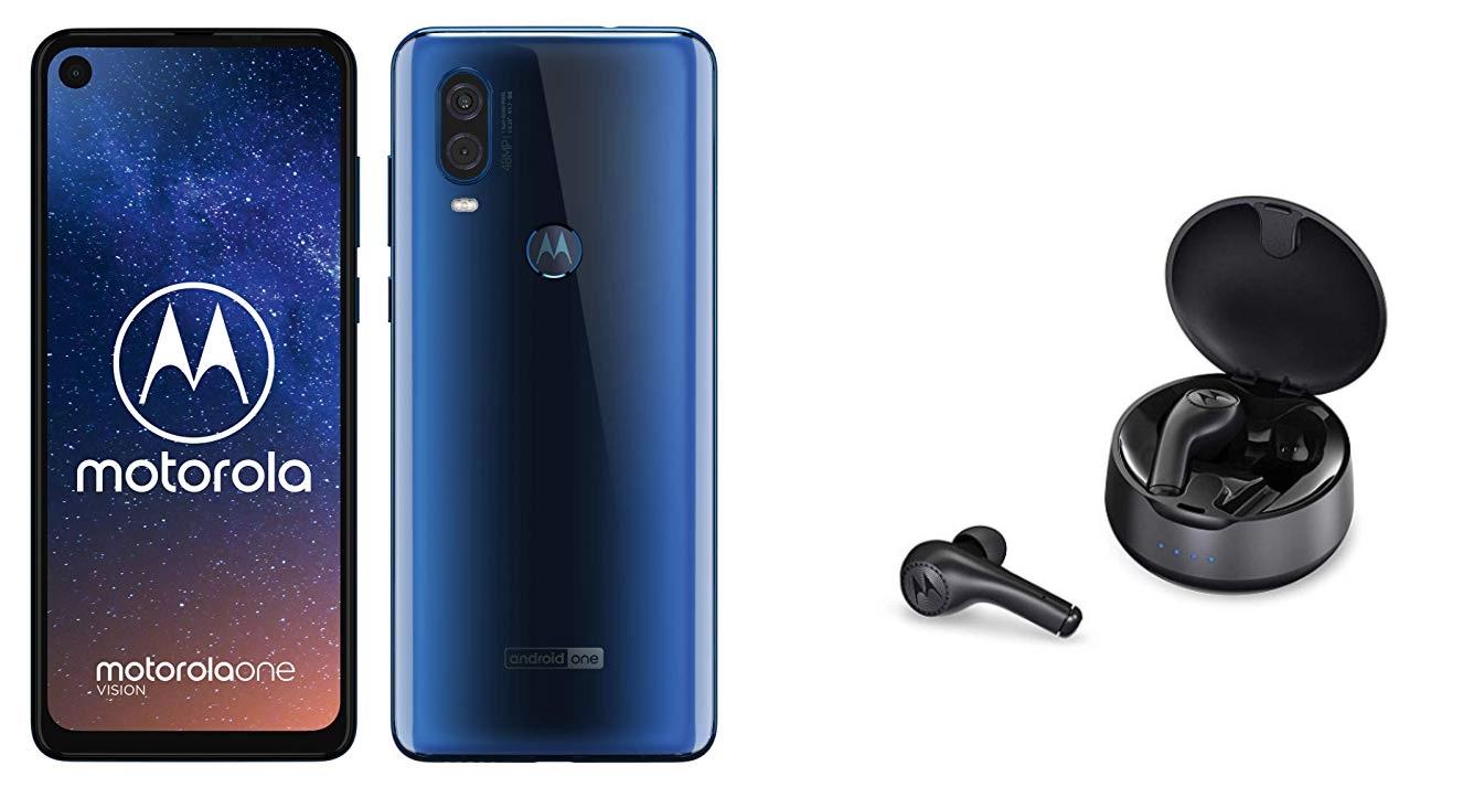 Motorola One Vision+Motorola Vervebuds 500
