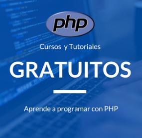 100 cursos de PHP gratis