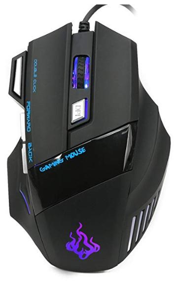 Ratón gaming RGB 5500DPI solo 5.2€