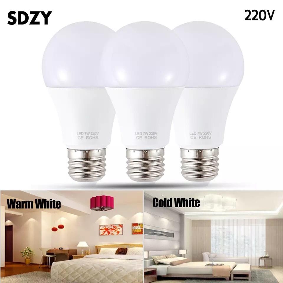 Bombillas LED E27 3W por menos de 40 céntimos