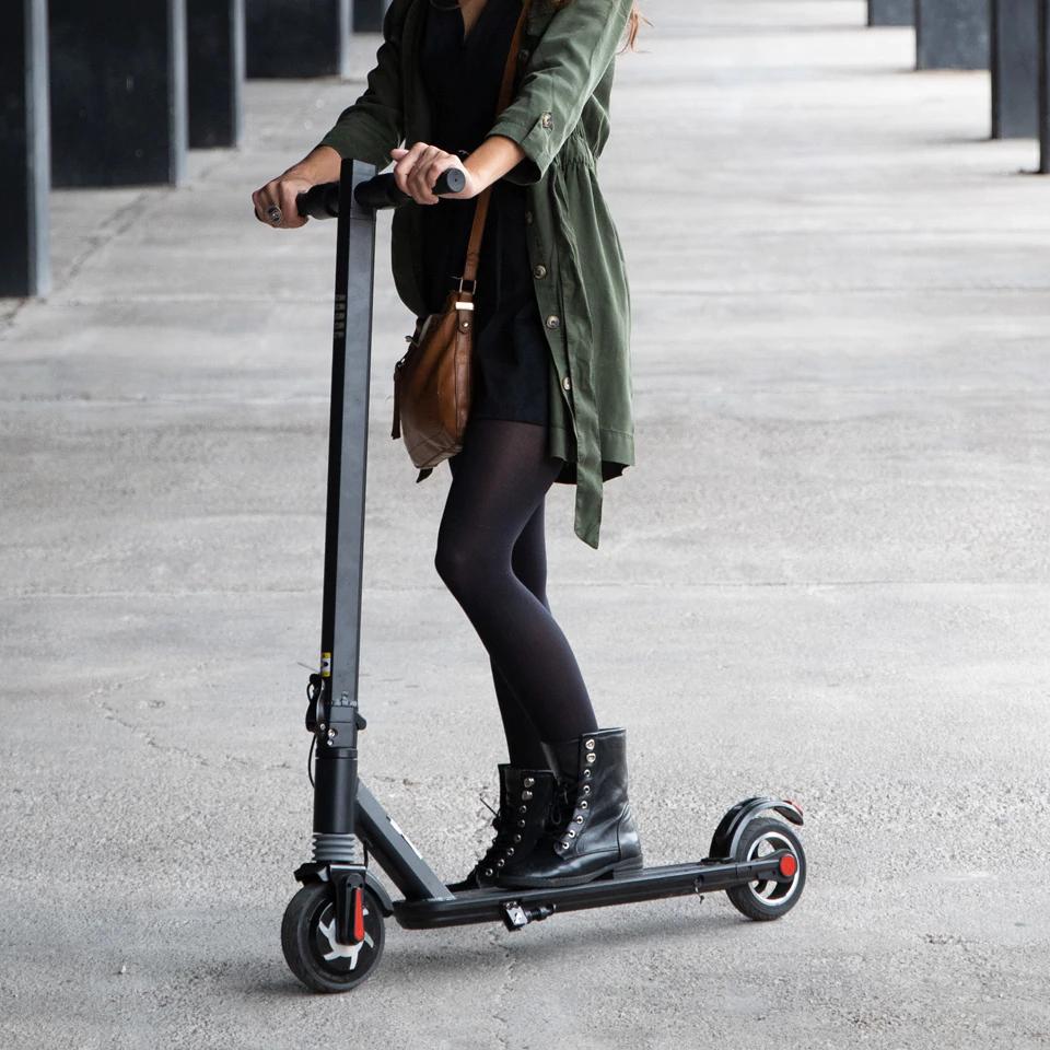 Patinete Electrico adulto scooter Plegable 250W 6 Pulgadas Aliexpress Plaza envio desde España.