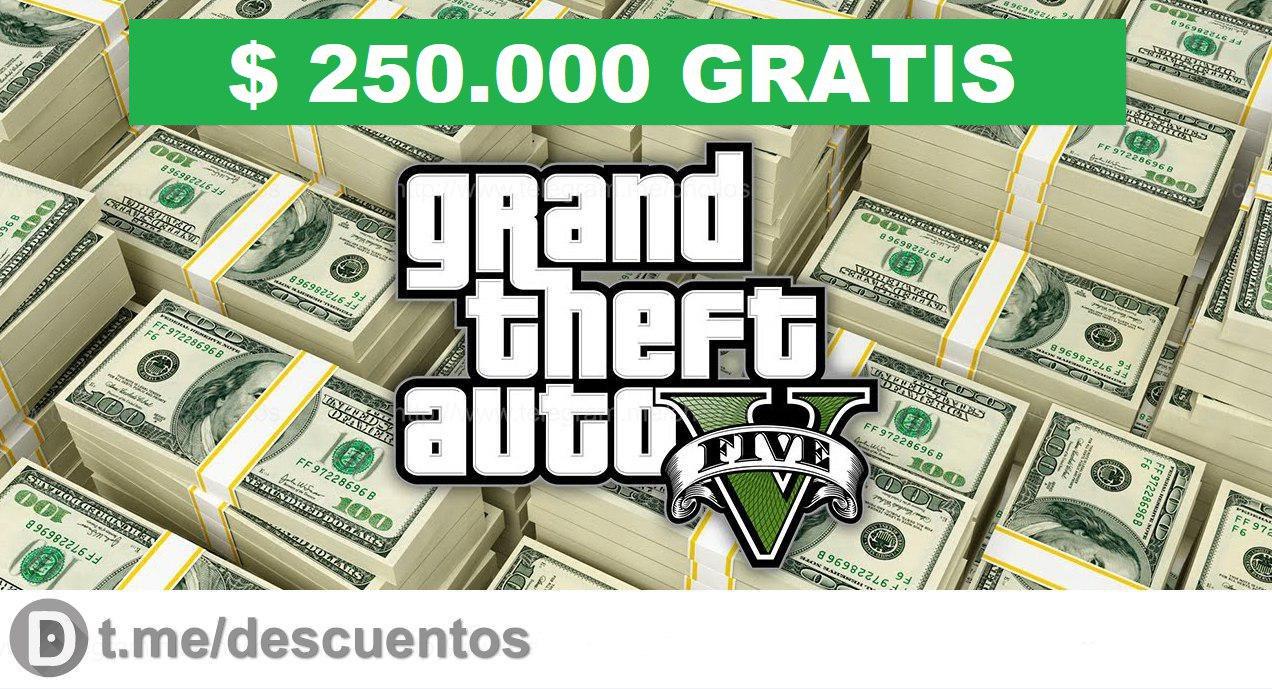 $250.000 dólares GRATIS para GTA Online