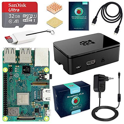 Raspberry Pi 3 B+ Starter Kit con Micro SD de 32GB + Extras