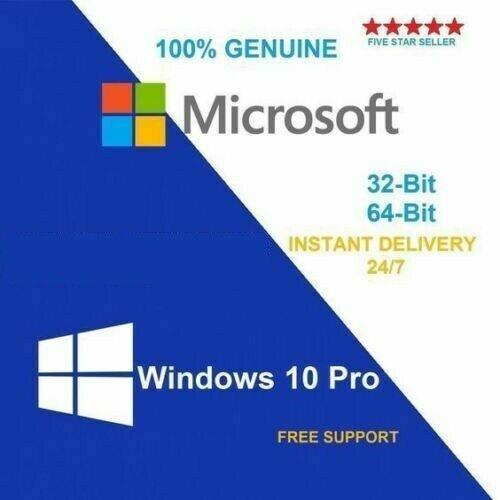Licencia Windows 10 PRO 32/64