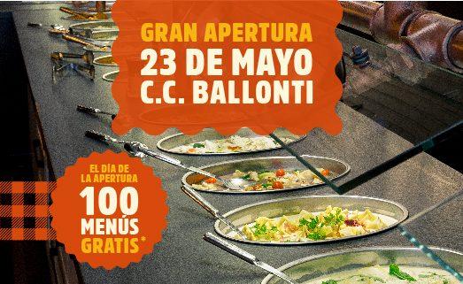 100 menus gratis en Muerde la pasta - (Portugalete)