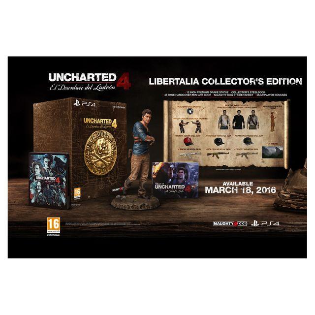 Edicion Colecionista Libertalia Uncharted 4: El desenlace del ladron