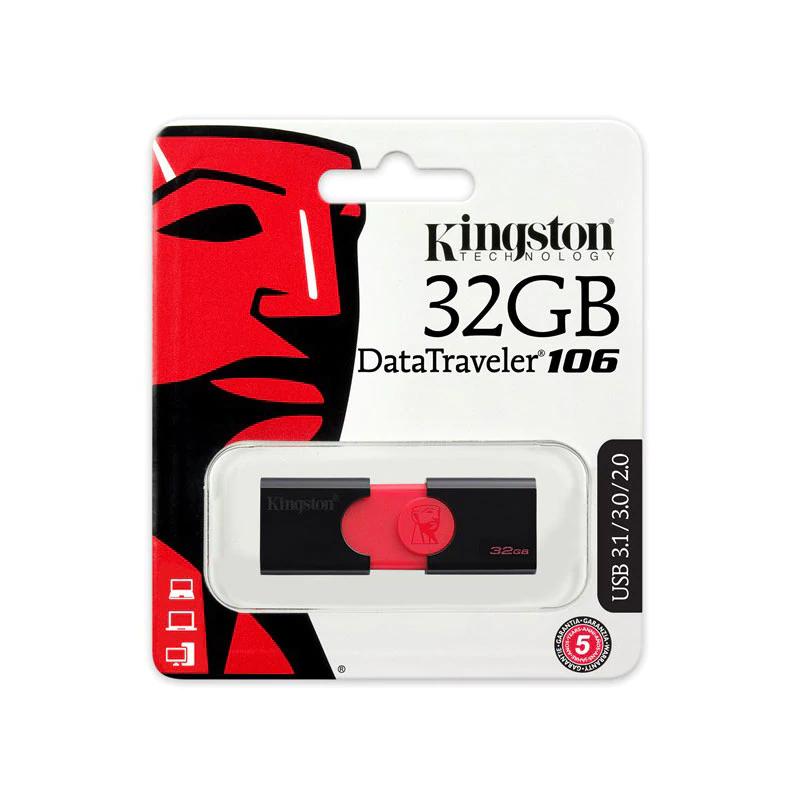Pendrive Kingston DataTraveler 106 32 GB USB 3.1