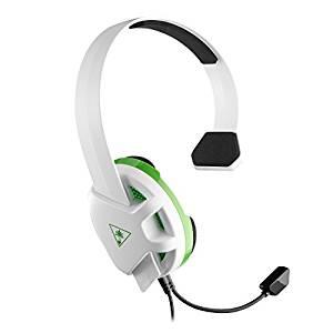 Turtle Beach Recon Chat Blanco - Auriculares gaming para Xbox One y PS4 (reacondicionado)