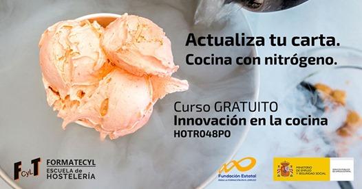 Curso Gratuito de Innovación en la Cocina