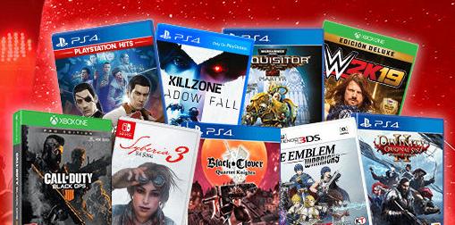 Varios Juegos a 4,99 (Xbox, PS4, Switch, PSP y PC)
