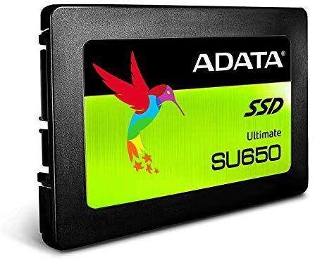 SSD 960GB ADATA Ultimate SU650 520/450 MB / s 75K IOPS