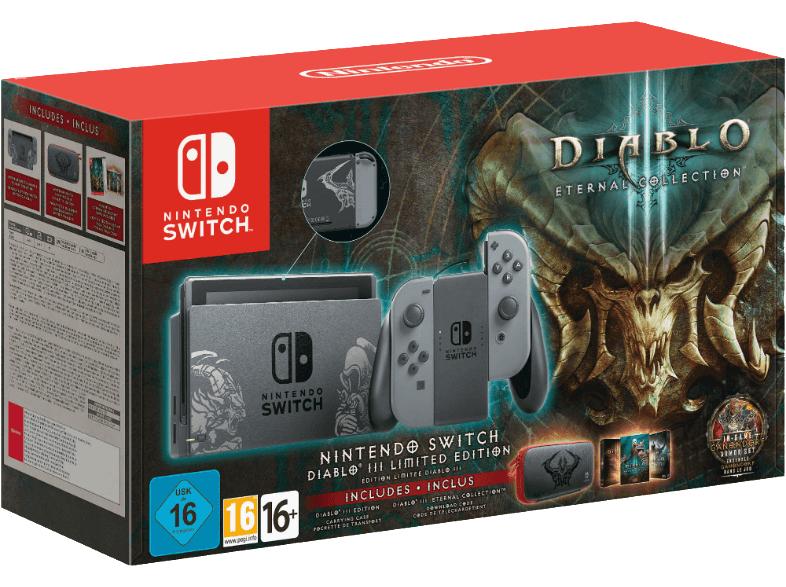 Nintendo Switch Edición Limitada Diablo III a 299€