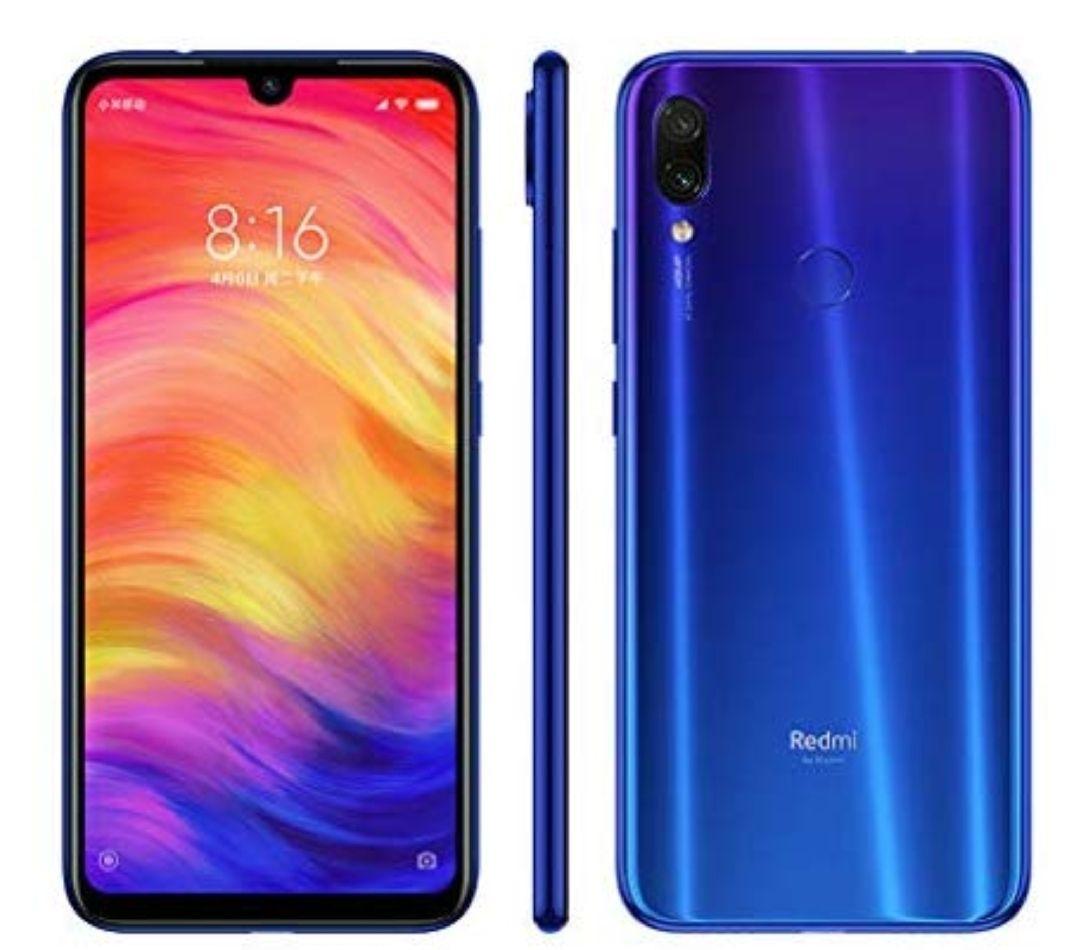 "Xiaomi Redmi Note 7 16 cm (6.3"") 4 GB 64 GB Ranura híbrida Dual SIM 4G Azul 4000 mAh"