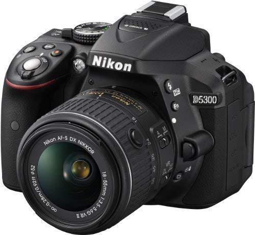 Nikon D5300 + Objetivo AF-P DX NIKKOR 18-55mm f/3.5-5.6G VR