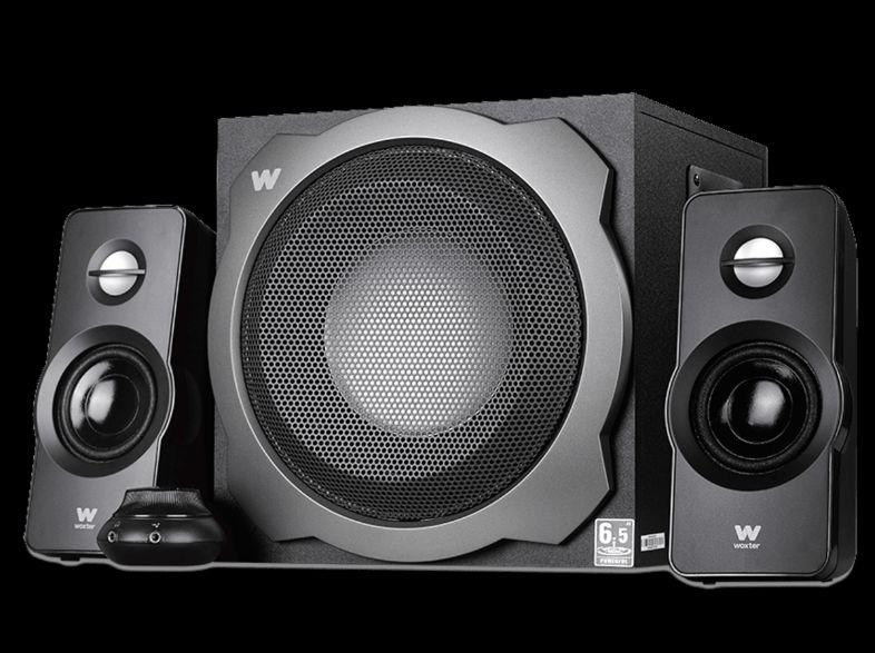 Sistema de altavoces Woxter Big Bass 260 S, Sistema 2.1, 150 W