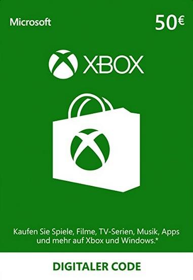 50€ de crédito de Xbox Live por 41€