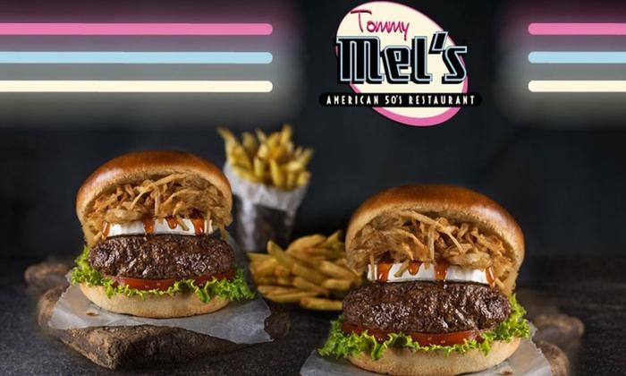 Menú 2 pers. con entrante, principal, bebida y milkshake desde 19,95 € - Tommy Mel's
