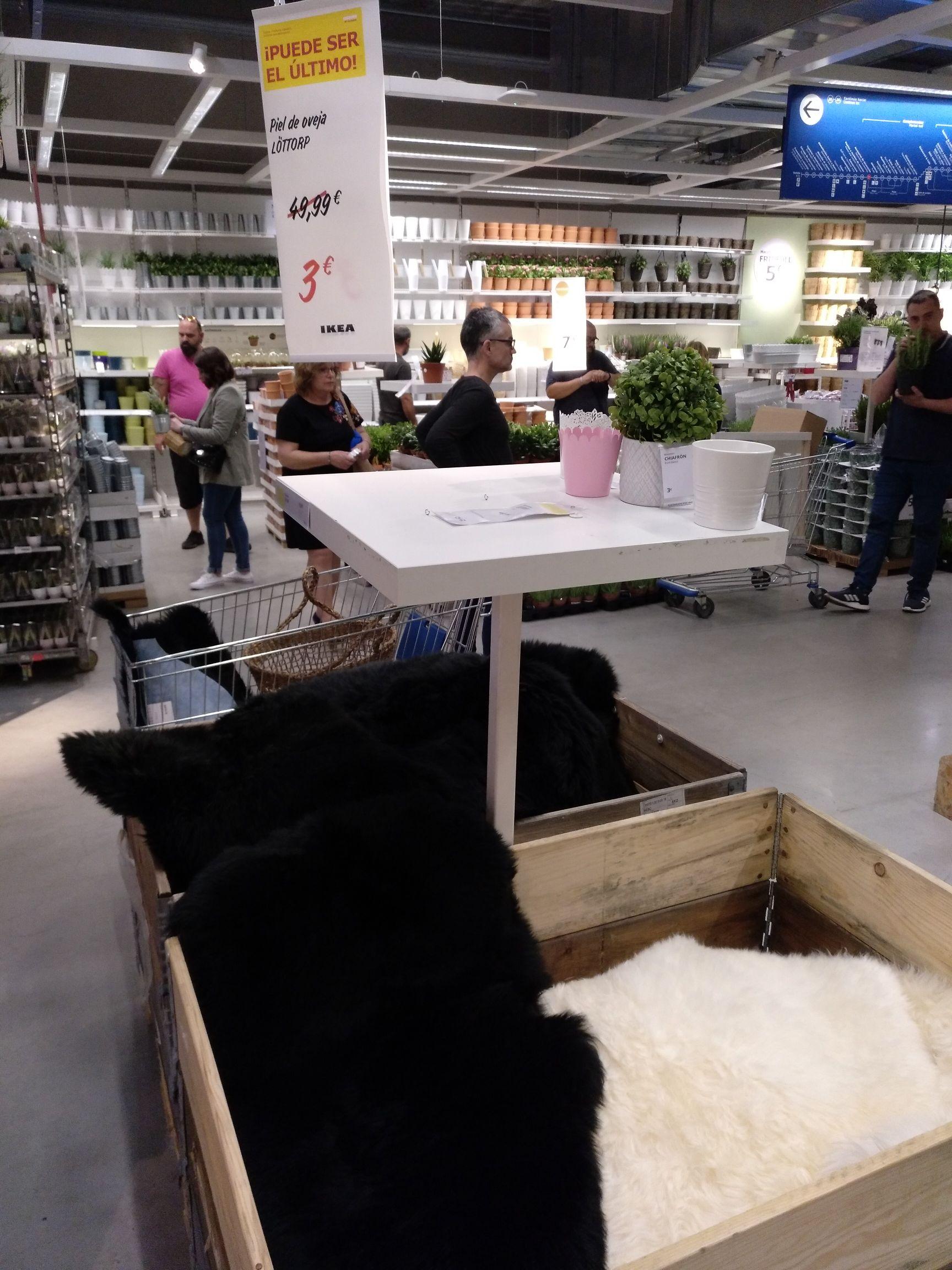 Alfombra Piel Oveja IKEA