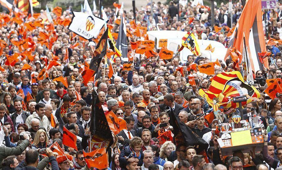 Pantallas gigantes, paellas y numerosas actividades en Valencia por la final de la Copa del Rey