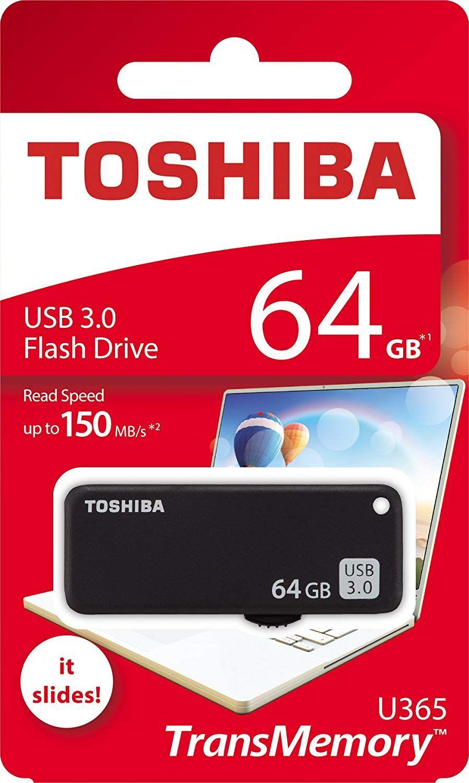 USB Toshiba de 64GB 3.1 150 MB/s
