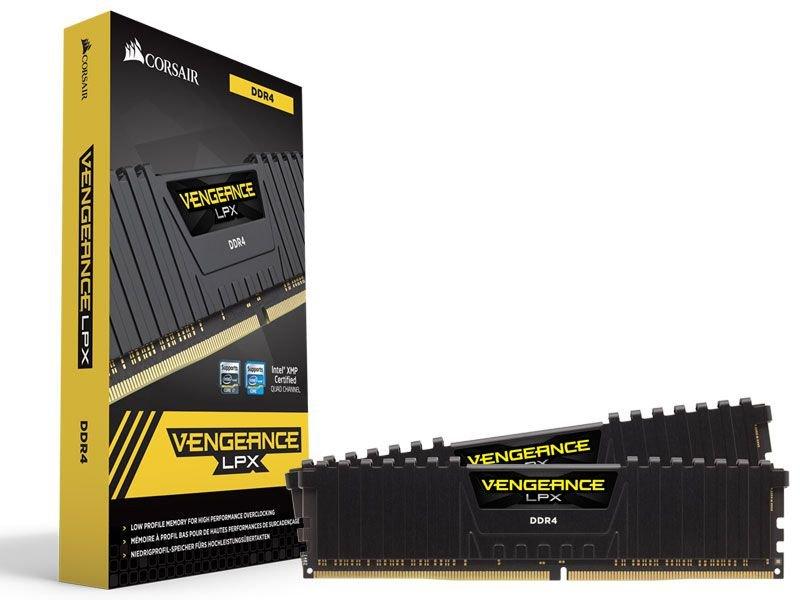 Corsair Vengeance LPX Negro DDR4 16GB 3000MHz CL16  2x8GB / 1x16Gb