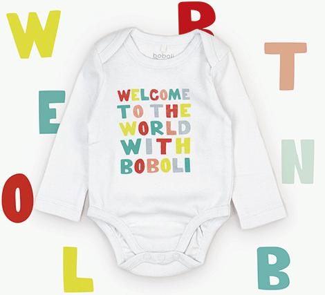 Body gratis para bebé