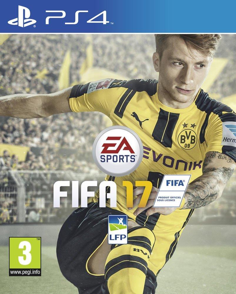 PS4: FIFA 17 (juego físico)