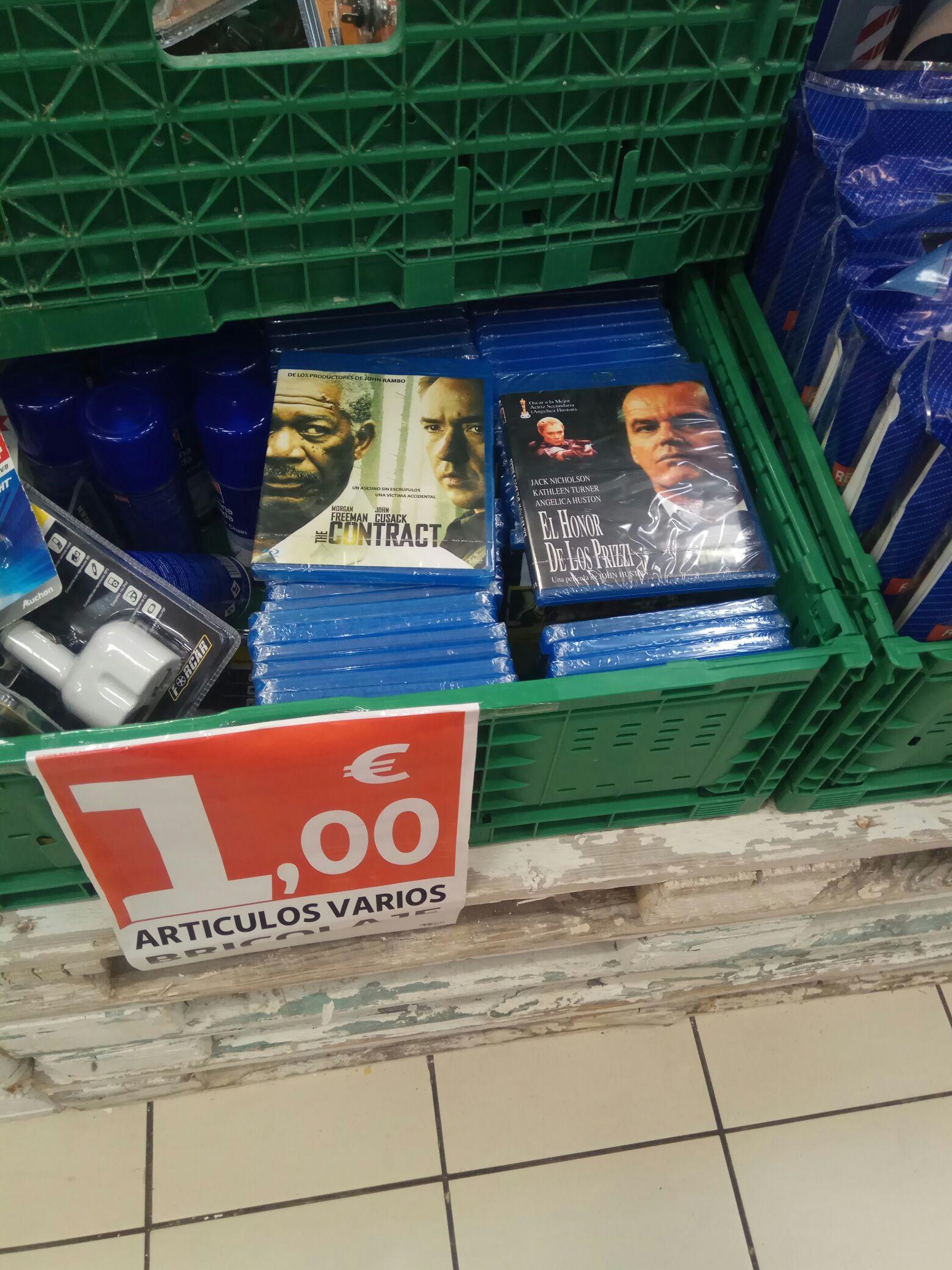 Películas Blu-ray y más... Alcampo Barbastro.